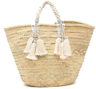 Giselle Irene Straw Tote Bag