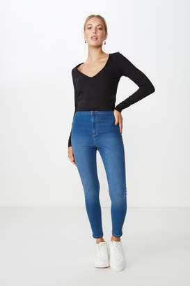 Supre Short Super Skinny Sky High Jean