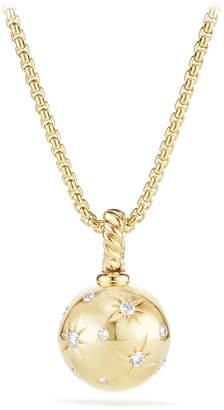 David Yurman Solari Pendant with Diamonds in 18K Gold