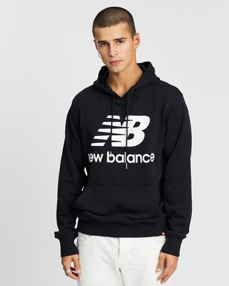 New Balance Essentials Stacked Pullover Hoodie