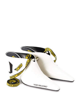 Off-White Off White For Walking Leather Mule Pump