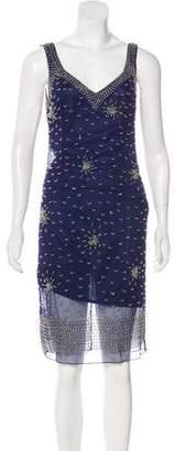 Blugirl Embellished Chiffon Dress