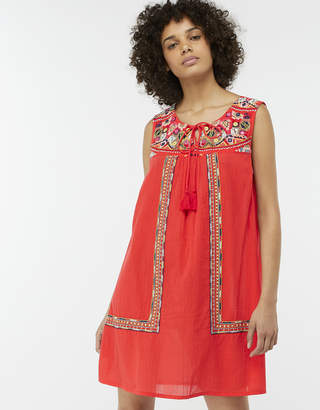 Monsoon Grace Embroidered Day Dress