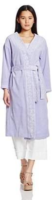 Lily Brown (リリー ブラウン) - (リリーブラウン) Lily Brown ベロア刺繍ガウン LWFC171090 71 LAV F