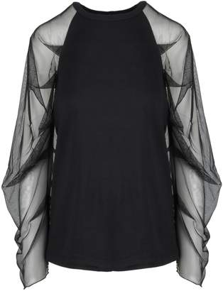 See by Chloe See-through Sleeves Blouse