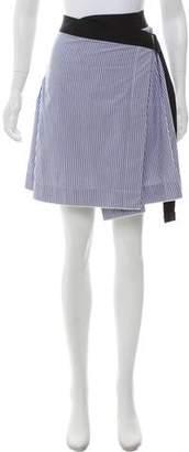 Rag & Bone Striped Mini Skirt