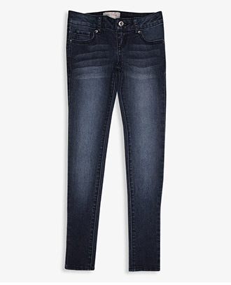 Forever 21 Whiskered Skinny Jeans (Kids)