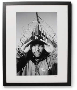 Sonic Editions Framed 1992 Ice Cube Print, 16 X 20