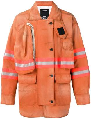 Calvin Klein firefighter coat
