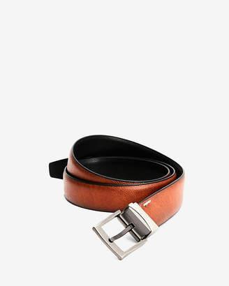 Express Pebbled Stretch Reversible Prong Belt