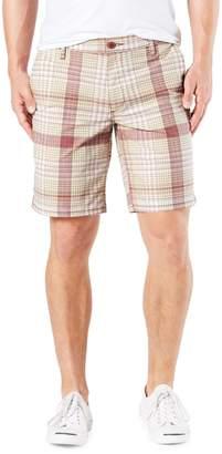 Dockers Straight-Fit Plaid Original Khaki Shorts