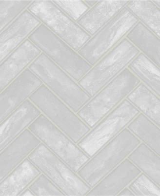 Graham & Brown Lustro Silver Wallpaper
