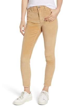 Current/Elliott The Stiletto High Waist Ankle Corduroy Pants