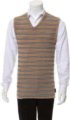 Burberry Nova Striped Sweater Vest