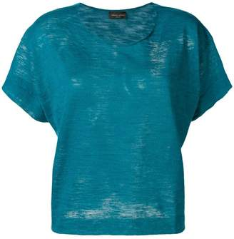 Roberto Collina scoop neck T-shirt