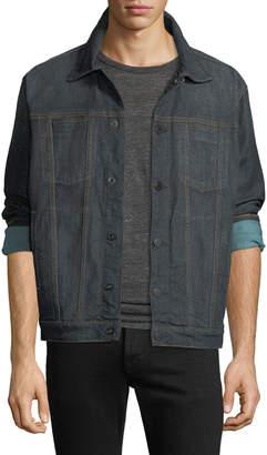 Hudson Men's Donovan Snap-Front Denim Jacket
