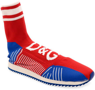 Dolce & Gabbana Men's Sorrento Sock Soccer Sneakers
