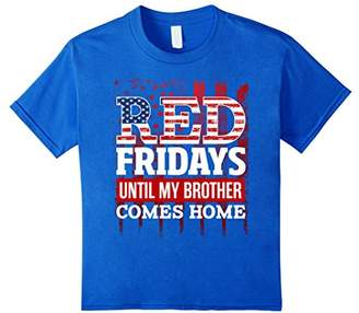 Red Friday - Remember Military Brother Deployed Shirt