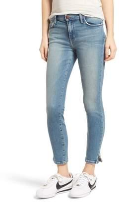 Current/Elliott The Stiletto Vent Hem Skinny Jeans