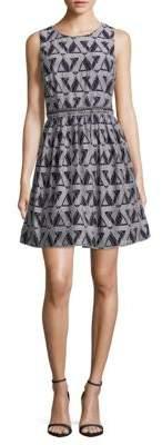 Roundneck Sleeveless Dress $168 thestylecure.com