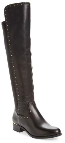 Calvin Klein Cynthia Studded Riding Boot