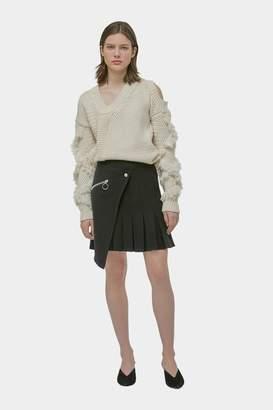 Yigal Azrouel Pleated Wrap Skirt