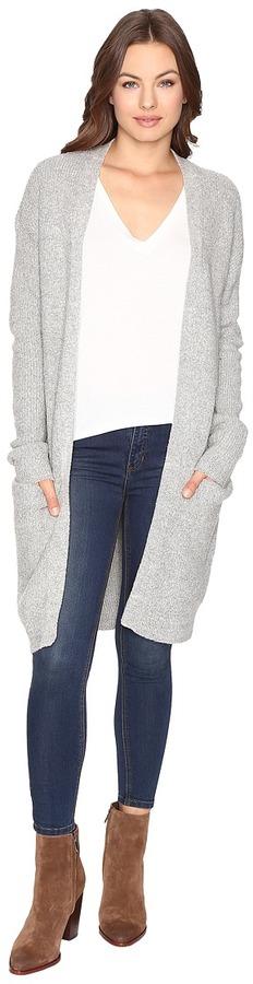 Brigitte Bailey - Amethyst Cozy Long Cardigan Women's Sweater