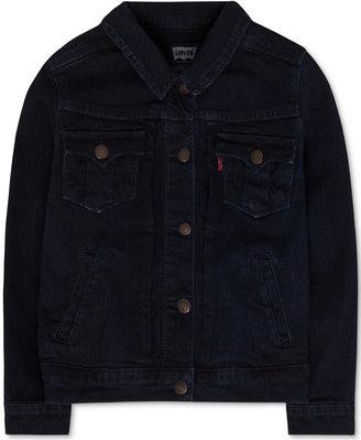 Levi's® Denim Jacket, Little Girls (2-6X) $48 thestylecure.com