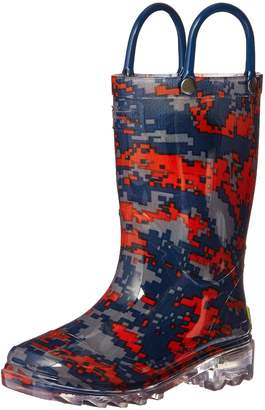 Western Chief Boys Light-Up Rain Boot