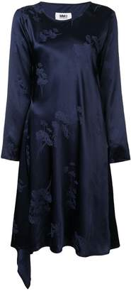 MM6 MAISON MARGIELA floral embroidered dress