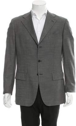 Alexander McQueen Wool Three-Button Blazer