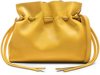 Mansur Gavriel Mini Protea Bag in Sun & Rosa | FWRD