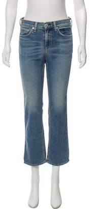 Rag & Bone Belle Mid-Rise Distressed Jeans w/ Tags