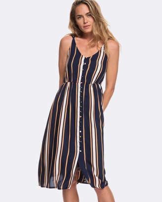 Roxy Womens Sunset Beauty Strappy Midi Dress