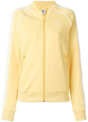 adidas zip front bomber jacket