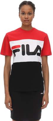 Fila Urban LARGE LOGO COTTON JERSEY T-SHIRT