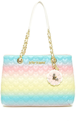 Betsey Johnson Be Mine Chain Shoulder Bag $98 thestylecure.com