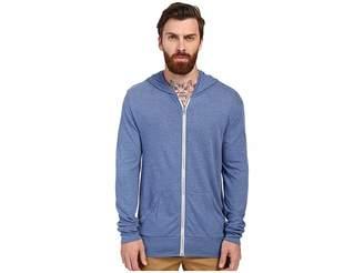 Alternative L/S Zip Hoodie Men's Sweatshirt