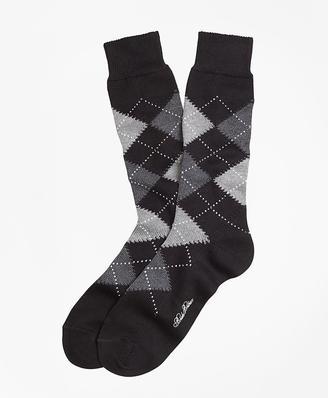 Argyle Crew Socks $22.50 thestylecure.com