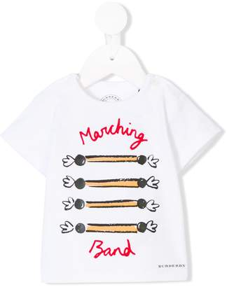 Burberry Marching Band print T-shirt