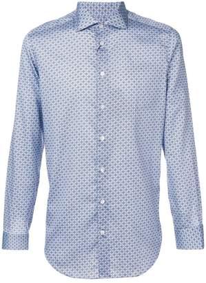 Etro geometric print shirt