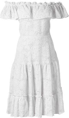 Isolda off-the-shoulder dress