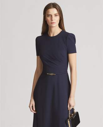 Ralph Lauren Eldridge Wool-Blend Dress