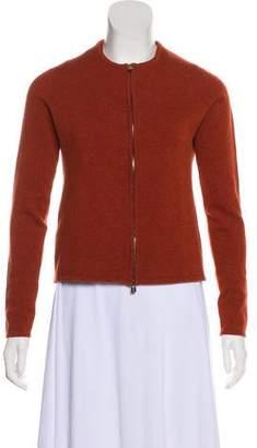 Hermes Cashmere Knit Cardigan Set