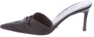 GucciGucci GG Pointed-Toe Mules