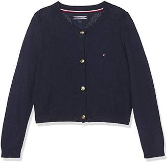 Tommy Hilfiger Girl's AME S Cn Cardigan L/s(Size: 10)
