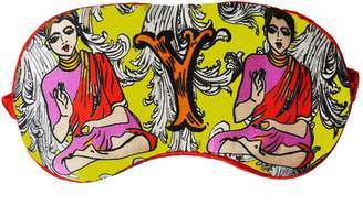 Jessica Russell Flint - Y Is For Yoga Silk Eye Mask In Giftbox