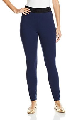Juicy Couture Black Label Women's High Waisted Ponte Legging $35.78 thestylecure.com