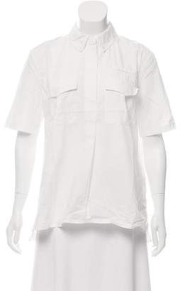 Equipment Oversize Linen Top
