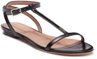 BOSS Staple T-Strap Sandal Flat
